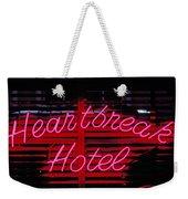 Heartbreak Hotel Neon Weekender Tote Bag