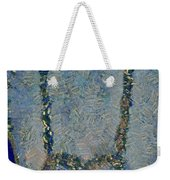 Hearted On Your Wall Again Medalion Painting Weekender Tote Bag
