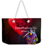 Heartistically Yours Weekender Tote Bag