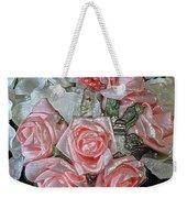 Hearts And Roses Weekender Tote Bag