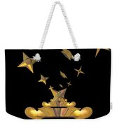 Hearts And Stars Weekender Tote Bag