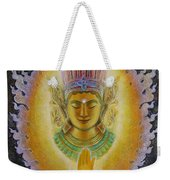 Heart's Fire Buddha Weekender Tote Bag