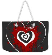 Hearts Graphic 1 Weekender Tote Bag