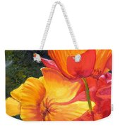 Hearts Of Poppies Weekender Tote Bag