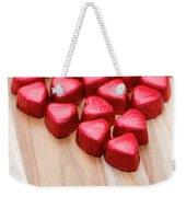 Hearty Heart Weekender Tote Bag