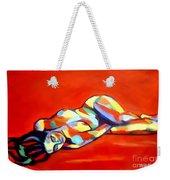 Heat Weekender Tote Bag by Helena Wierzbicki