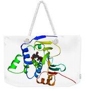 Heat Shock Protein 90 Weekender Tote Bag by Ted Kinsman