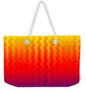 Heat Wave Abstract Design Weekender Tote Bag