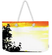 Heat Wave Weekender Tote Bag