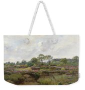 Heather Landscape Weekender Tote Bag