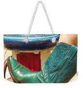 Heather's Boot Weekender Tote Bag