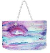 Heaven Awaits Weekender Tote Bag by Nancy Cupp