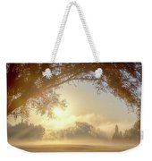 Heavenly Arch Sunrise Weekender Tote Bag
