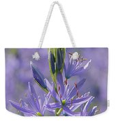 Heavenly Blue Camassia Weekender Tote Bag