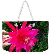 Heavenly Epiphyllum Orchid Cactus Weekender Tote Bag