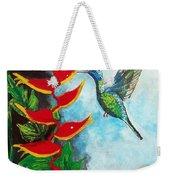 Heavenly Heliconia Weekender Tote Bag