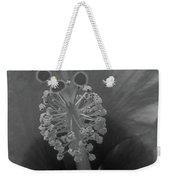 Heavenly Hibiscus Bw 01 Weekender Tote Bag