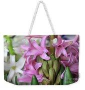 Heavenly Hyacinths Weekender Tote Bag