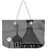 Heavenly Moon Weekender Tote Bag