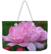 Heavenly Pink Rose Weekender Tote Bag