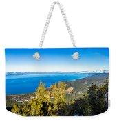 Heavenly South Lake Tahoe View 1 - Right Panel Weekender Tote Bag