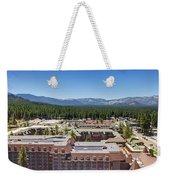 Heavenly Village Weekender Tote Bag