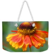Heavenly Zinnia Weekender Tote Bag