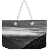 Heaven's Gate - West Virginia Bw Weekender Tote Bag