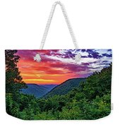 Heaven's Gate - West Virginia - Paint Weekender Tote Bag
