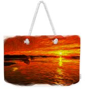Heavens Of Fire 2 Weekender Tote Bag