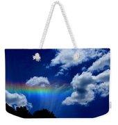 Heavens Rainbow Weekender Tote Bag