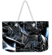 Heavy Piston Weekender Tote Bag by Scott Wyatt