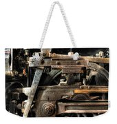 Heavy Wheel Weekender Tote Bag