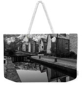 Rochdale Canal, Yorkshire, England Weekender Tote Bag