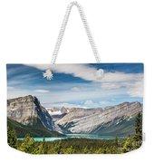 Hector Lake, Canadian Rockies Weekender Tote Bag