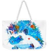 Hedgehog With Heart Weekender Tote Bag