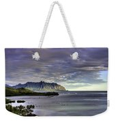 He'eia And Kualoa 2nd Crop Weekender Tote Bag
