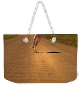 Heel Clicks On The Washboard Weekender Tote Bag