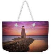 Hefner Lighthouse Weekender Tote Bag