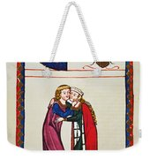 Heidelberg Lieder, 14th C Weekender Tote Bag