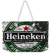 Heineken Beer Wood Sign 1f Weekender Tote Bag
