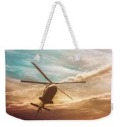 Helicopter Weekender Tote Bag by Bob Orsillo