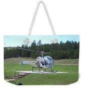 Helicopter Ride South Dakota Weekender Tote Bag