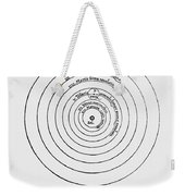 Heliocentric Universe, Copernicus, 1543 Weekender Tote Bag