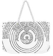 Heliocentric Universe, Thomas Digges Weekender Tote Bag