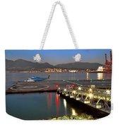 Heliport In The Vancouver's Port Weekender Tote Bag