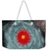 Helix Nebula Weekender Tote Bag by Georgeta  Blanaru