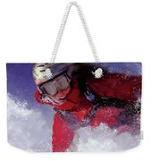 Hell Bent For Powder Weekender Tote Bag