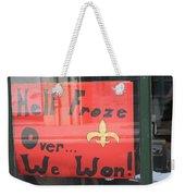 Hell Froze Weekender Tote Bag