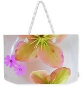 Hellebore Flower Art Weekender Tote Bag